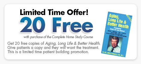 20 Free copies of Aging, Long Life & Better Health